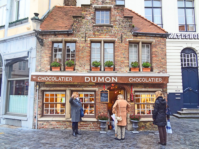 Belgian shops