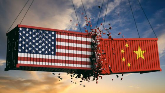 Trade war between the Usa and China